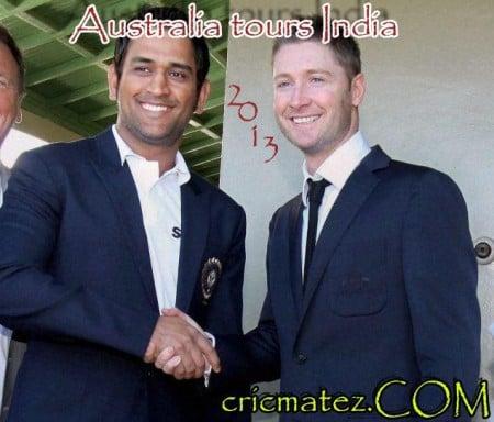 India vs Australia Test Series 2013