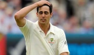 Mitchell Johnson, victim of homework-gate controversy