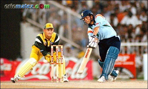 134 off 131 balls vs Australia, Sharjah - one of the Greatest Innings of Sachin Tendulkar