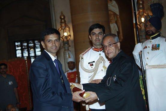 Rahul Dravid Gets Padma Bhushan