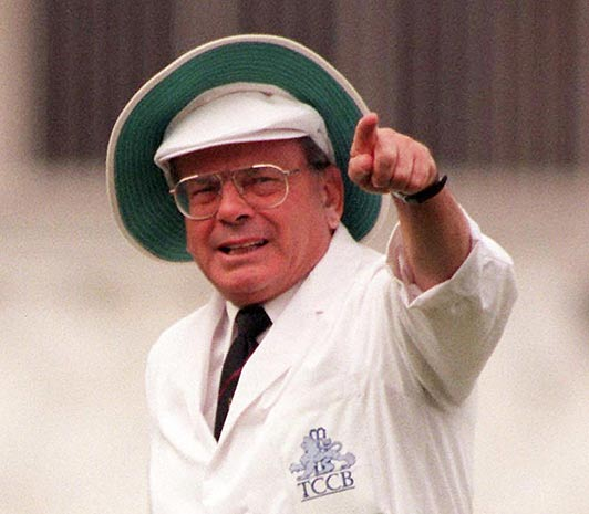 Dickie Bird, One of the Top  5 Greatest umpires Of All Time