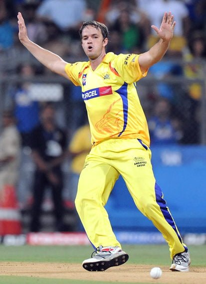 Albie Morkel Returns