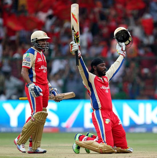 Fastest century in ipl by chris gayle