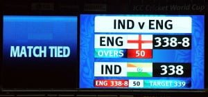 One of the Famous Tied Matches in ODI Cricket