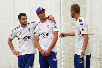 England's Fast Bowling Attack- Anderson, Broad, Finn ICC Champions Trophy Team Preview - ENGLAND