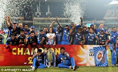 Mumbai Indians win IPL 2013
