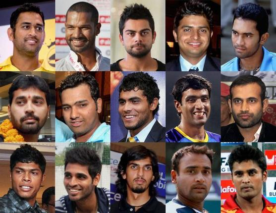Indian Squad For ICC Champions Trophy 2013 ICC Champions Trophy Team Preview - INDIA