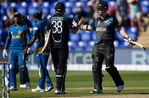 First time a team has won by 1 wicket in ICC Champions Trophy