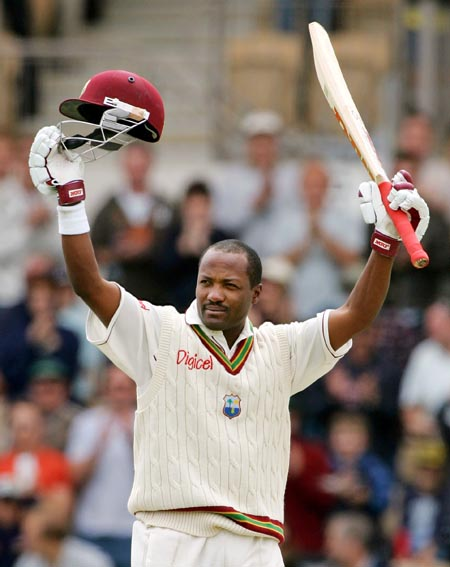 Brian Lara - The first batsman to score 400 runs in a Test Innings