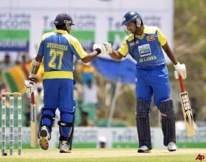 Jayawardene and Sangakkara completed 1000 ODI runs against New Zealand