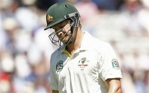 Watson's poor run with bat continued