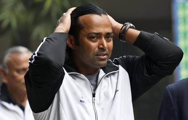 Leander Paes recently won the U.S. Open doubles title with Radek Stefanek