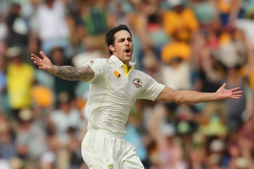Fiery Spell by Mitchell Johnson in the first ashes test