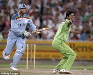 Wasim Akram - Player of the match