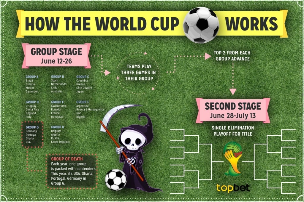 FIFA World Cup 2014 Infographics