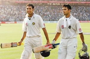 Laxman and Dravid played the inning of their life
