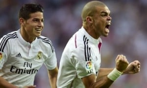 Pepe gives Real Madrid the lead
