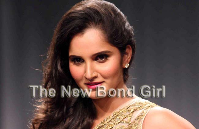 sania mirza the new Bond Girl