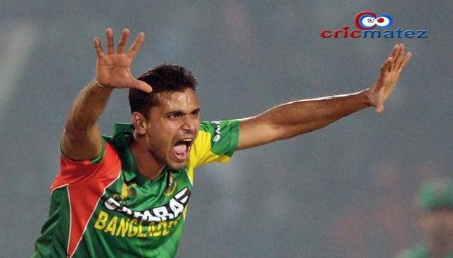 Mashrafe Mortaza (Bangladesh) - no.5