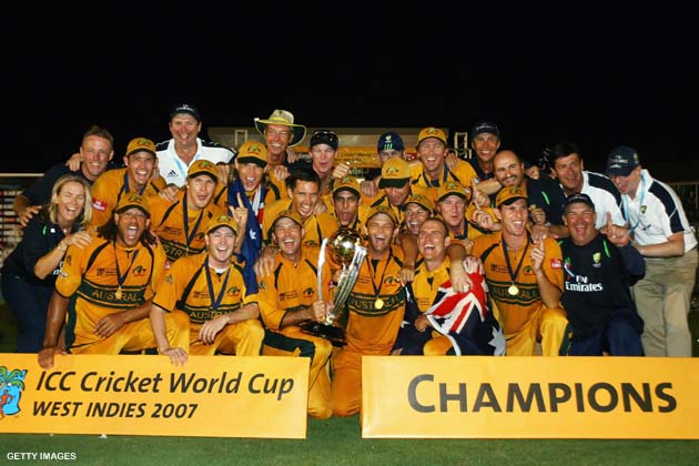 Australia emerged to be known as the most dominant force in the 2007 World Cup under the captaincy of Ricky Ponting
