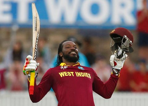 Chris Gayle (West Indies) - no.1