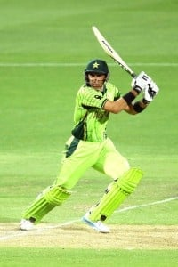Misbah seemed to be determined to get Paksitan at a respectable stage.