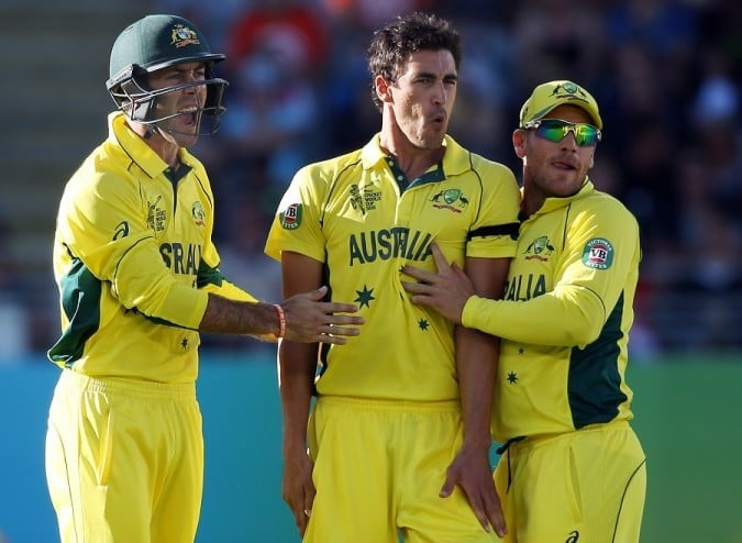 Australia's man! Mitchell Starc. 6 for 28.