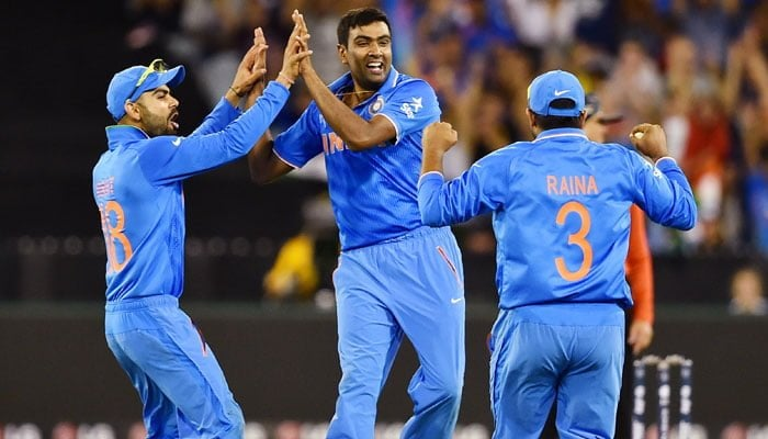 Ravichandran Ashwin best bowling performance in world cup 2015