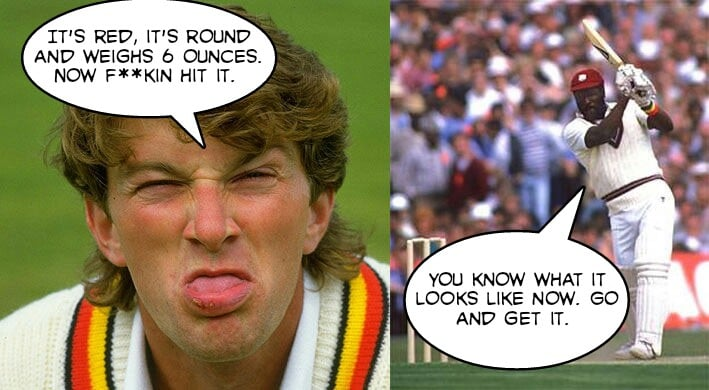 Top 10 ugliest sledging in cricket