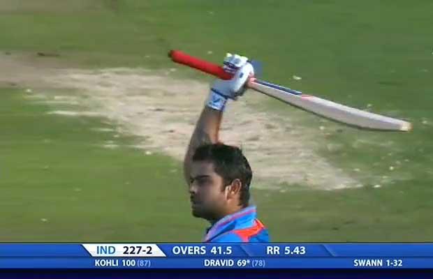Top 10 Best ODI innings by Virat Kohli