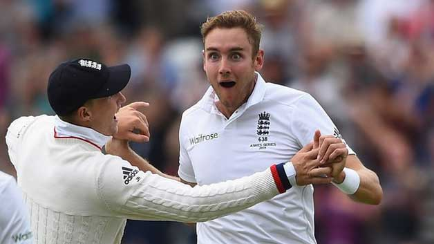 Stuart Broad record breaking spell in Ashes 2015