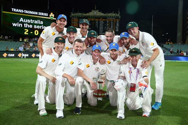 Historic Day-night Test match