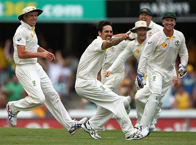 Mitchell Johnson 103-9 vs England, Brisbane, 2013