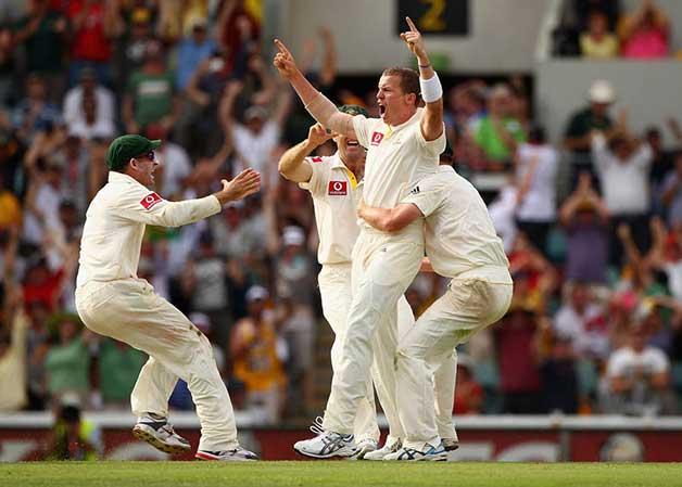 Peter Sidle hat trick vs England, Brisbane, 2010