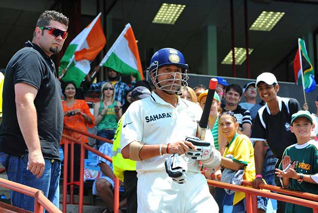 Sachin Tendulkar's 50th test hundred vs South Africa, Centurion, 2010