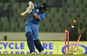 Shikhar Dhawan was sent packing in the 2nd over of the inaugural match of Asia Cup T20 2016 in Dhaka, Bangladesh
