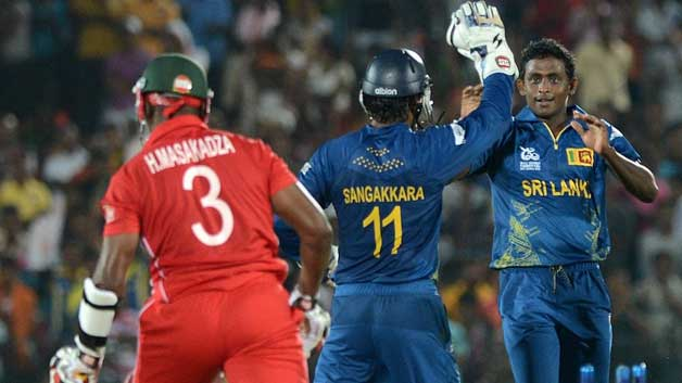 Ajantha Mendis 6-8 vs Zimbabwe, Hambantota, 2012