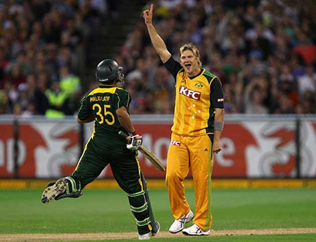 Australia vs Pakistan, Melbourne, 2010