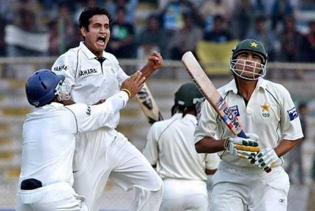 Irfan Pathan Hattrick against Pakistan