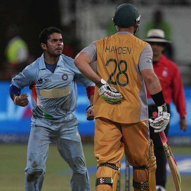 Sreesanth 2-12 vs Australia, Semi Final, Durban, 2007