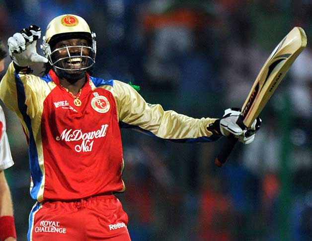 Chris Gayle (Royal Challengers Bangalore) – 128* runs