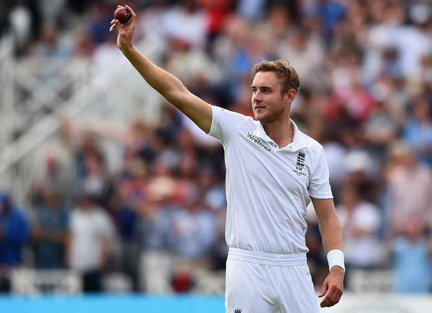 Top 10 Best Test Bowlers in 2016 : Stuart Broad