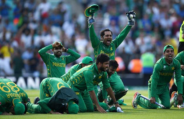 Pakistan beats India in ICC Champions Tropht Final