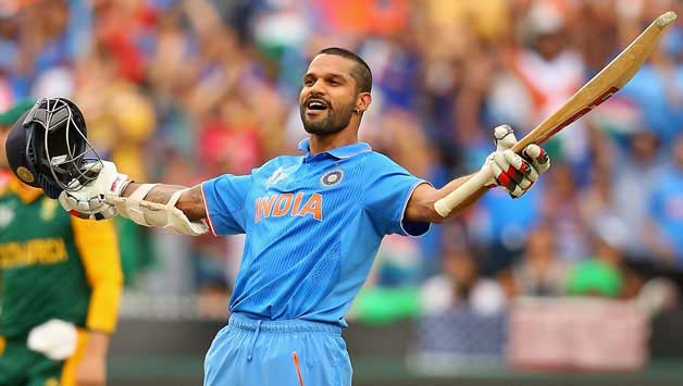 Top 10 Current ODI Batsmen With Best Strike-Rate - Shikhar Dhawan