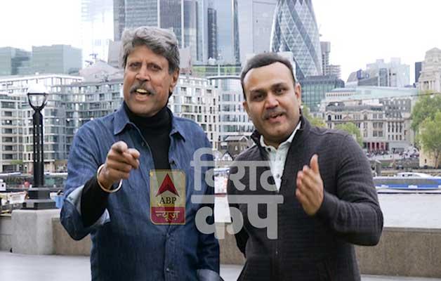Kapil Dev and Virender Sehwag